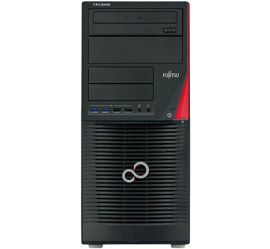Fujitsu Celsius W530 Workstation Intel i7-4790 16GB Ram Quadro K2000