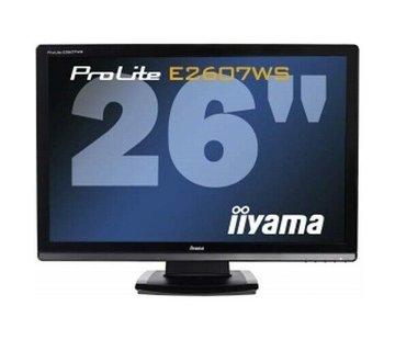 "Iiyama ProLite E2607WS 26"" LCD TFT Monitor HDMI Lautsprecher mit Standfuss"