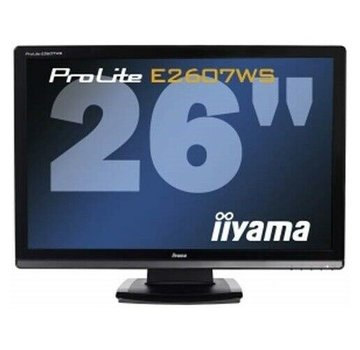 "Iiyama ProLite E2607WS 26 ""LCD TFT Monitor HDMI speaker with stand"