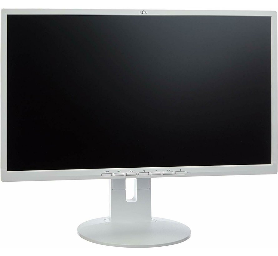 "FUJITSU 24 ""B24-8T Pro 60.9cm 24 inch 16: 9 USB 250 cd m2 1000: 1 display white"