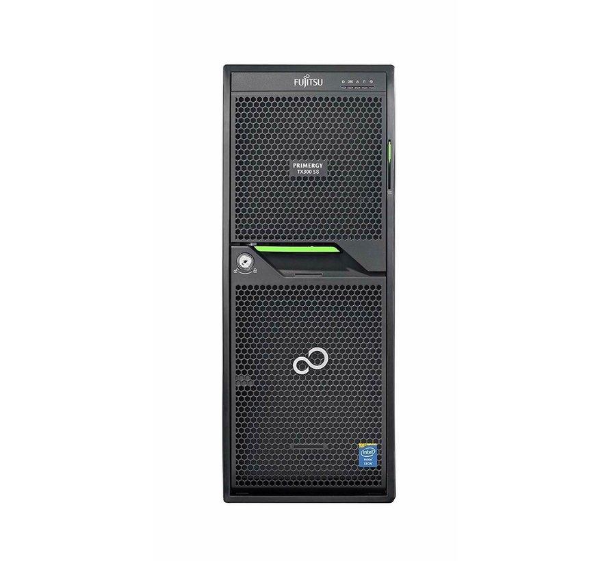Servidor Fujitsu Primergy TX300 S8 2x E5-2620 v2 Servidor Ram de 16 GB 2012 R2