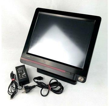 """Sistema de punto de venta Casio QT-6600 Pantalla táctil de 15 """"para gastronomía que incluye tarjeta CF de 2GB"""