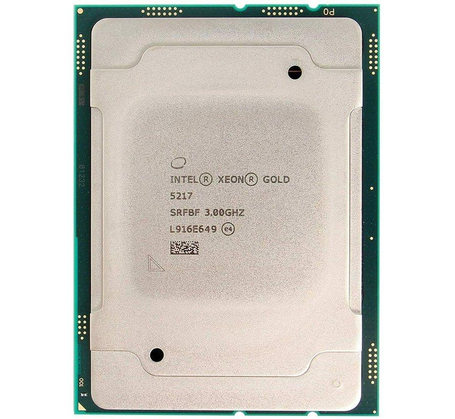 Intel Xeon Gold 5217 CPU 3.00GHz 8 cores 16 threads processor