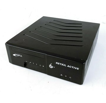 Sistema de caja registradora DigiPos Retail Active 8000 POS 500GB HDD 4GB RAM con fuente de alimentación