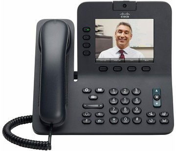 Cisco Cisco CP-8945-K9 VOIP Video Conference Business IP Telephone CP 8945