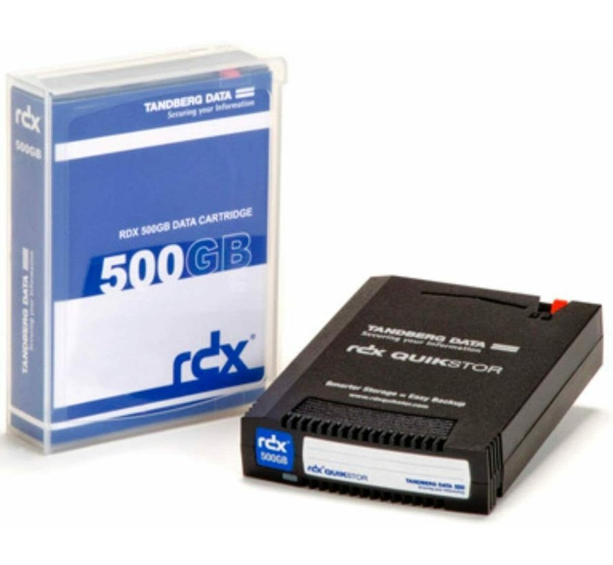 Tandberg 8541-RDX Quikstor 500GB Data Cartridge SATA USB 3.0