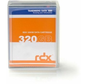 Tandberg 8536-RDX 320 GB Data Cartridge Speichermedium NEU