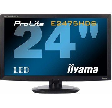 "iiyama ProLite E2475HDS 23,6"" WIDESCREEN LED-BACKLIGHT OVERDRIVE MONITOR"