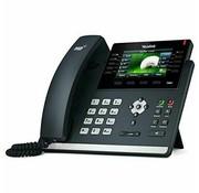 Yealink SIP-T46S IP Phone Black Wired Handset LCD 16 lines