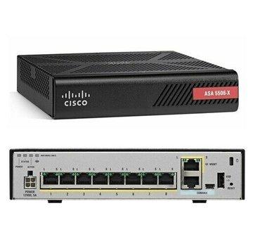 Cisco Cortafuegos CISCO ASA5506-X (NGFW) ASA5506 sin fuente de alimentación