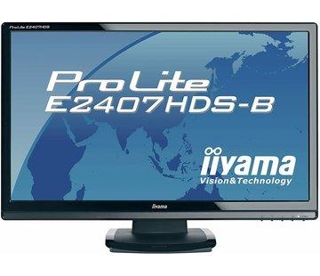 "iiyama ProLite e2407HDS 24 ""MONITOR COMPUTER PC DVI-D"
