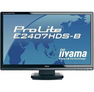 "iiyama ProLite e2407HDS 24"" MONITOR COMPUTER PC DVI-D"