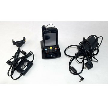 Motorola MC76NA Mobile Scanner Computer + Station Power Supply Car Charger Cable