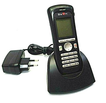 SWYX D215 DH3-GAAA / 1B Phone Telephone WITH CHARGER AND POWER SUPPLY