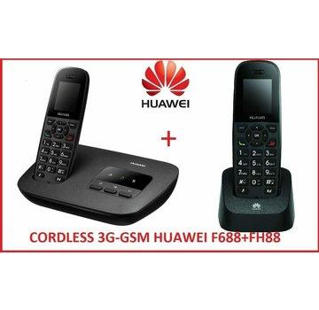 HUAWEI DUOS GSM 3G / UMTS F688 + FH88 con tarjeta SIM teléfono inalámbrico