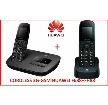 HUAWEI DUOS GSM 3G / UMTS F688 + FH88 with SIM card cordless phone