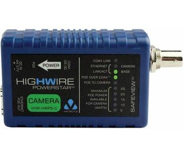Veracity VHW-HWPS-C Coax-IP converter camera unit