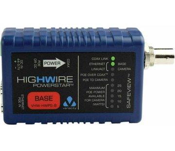 Veracity VHW-HWPS-B coax-IP converter base unit camera unit