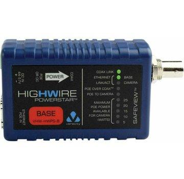 Veracity VHW-HWPS-B Koax-IP Konverter Basiseinheit Kameraeinheit