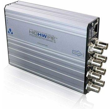 Veracity VHW-HWPS-B8 Highwire Powerstar BASE8 LinkLock 8-Port EOC Base mit POE +