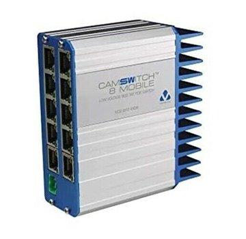 VCS-8P2-MOB Conmutador Veracity de bajo voltaje 802.3AT POE para 8 cámaras
