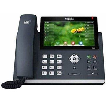 TELÉFONO IP Yealink SIP-T48S SIN FUENTE DE ALIMENTACIÓN Teléfono teléfono negro