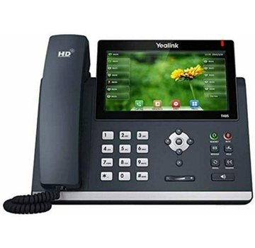 Yealink SIP-T48S IP TELEPHONE WITHOUT POWER SUPPLY Phone phone black