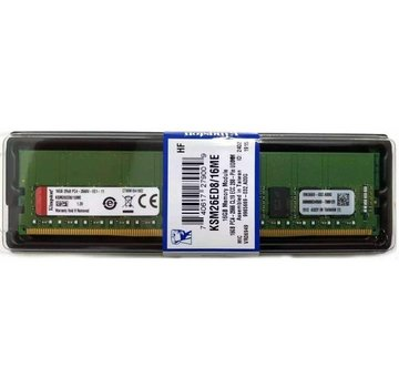 Memoria de 16GB Kingston KSM26ED8 / 16ME DDR4-2666 ECC DIMM CL19 NUEVO