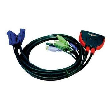 roline USB KVM Switch 2 Port with Audio