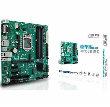 Asus ASUS Prime B360M-C Intel B360 Mainboard Micro-ATX Sockel 1151 NEU