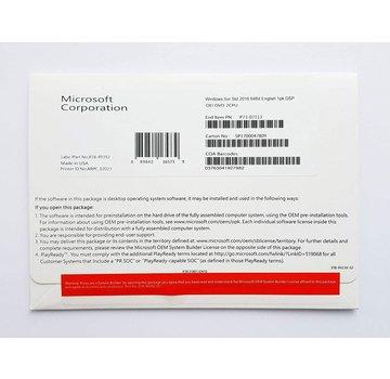 Windows Server Std 2016 64Bit German license Microsoft Windows