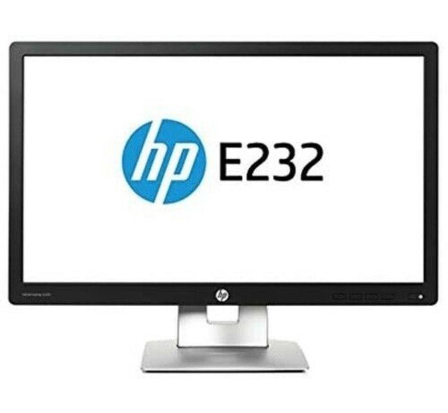 "HP EliteDisplay E232 Widescreen LED-Backlight Monitor Display Monitor 23 """