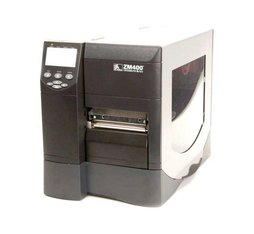 Zebra ZM400 Label Printer Thermal Printer Printhead Defective
