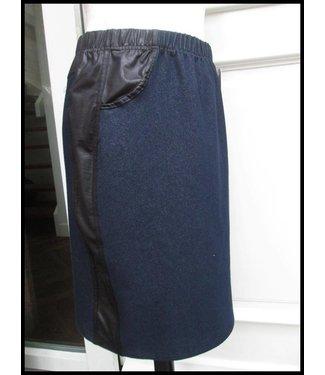 Magna Blau Magna Jeans Rock