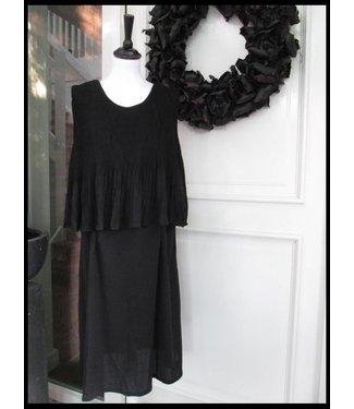 Schwarz H3 Kleid
