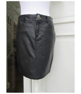 Leatherlook Rok