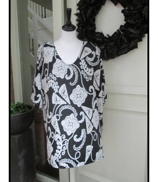 Magna Zwart/Wit Magna Shirt