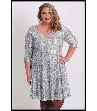 Magna Grey Magna Dress
