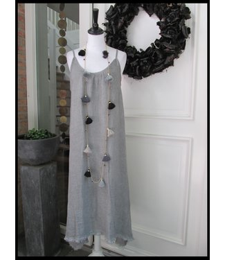 Hebbez Grau Hebbez Kleid