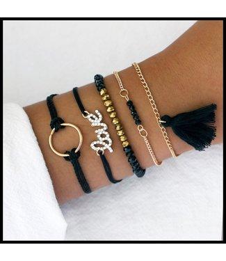 Mooie Set Armband