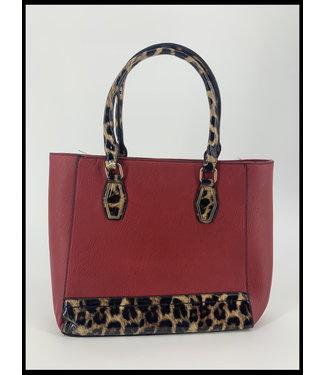 merkloos Rot Tasche