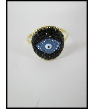 merkloos Gelb Ring