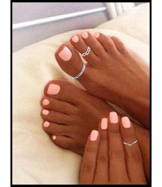 merkloos Grau Ring