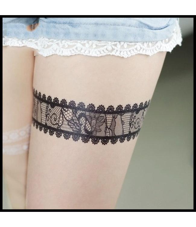 merkloos Tattoo Stikker Enkelketting