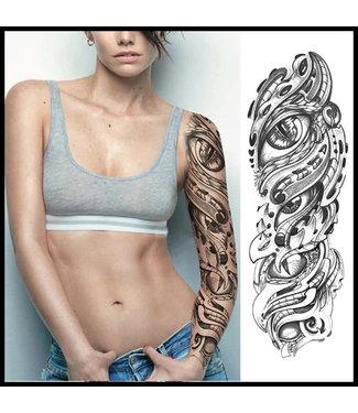 merkloos Schwarz Tattoo
