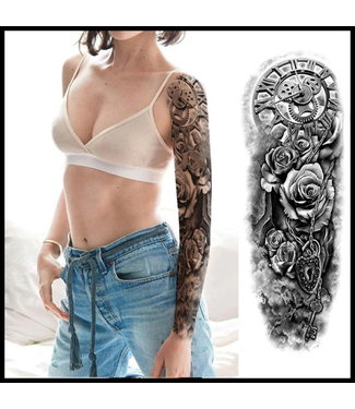 merkloos Long Sleeve Tattoos