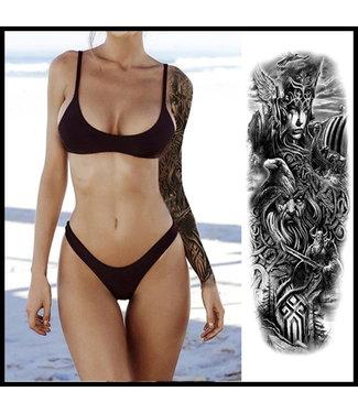merkloos Long Sleeve Tattoo