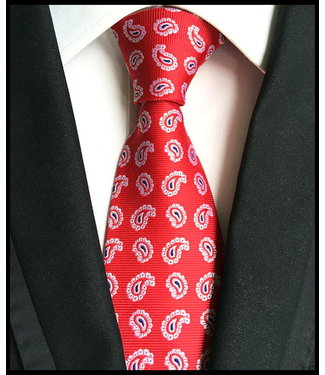 merkloos Rot Krawatte