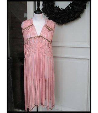 merkloos Pink Waistcoat