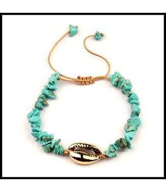 merkloos Opaal Steentjes Armband